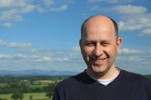 Bald Smiling Man