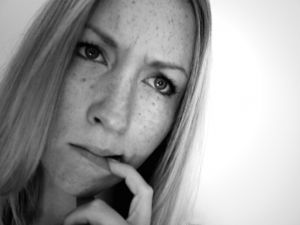 uncertain woman