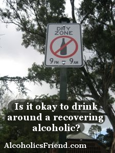 No Drinking Allowed